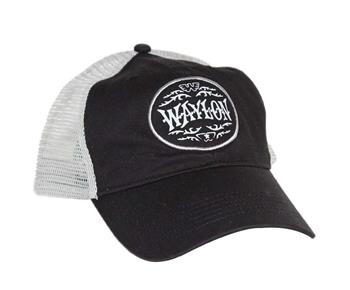 Waylon Jennings Waylon Jennings Circle Trucker Hat