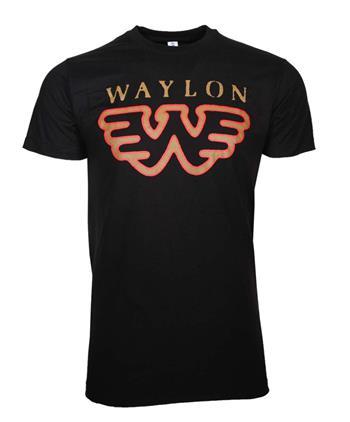 Waylon Jennings Waylon Jennings Flying W T-Shirt