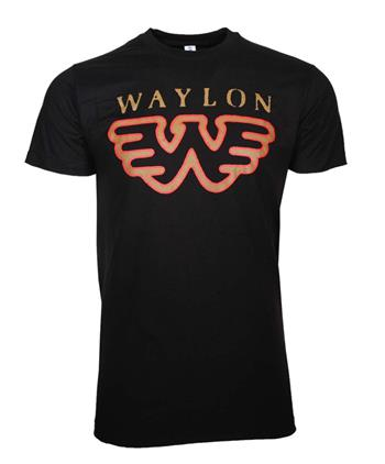 Waylon Jennings Waylon Jennings Flying W T-Shirt