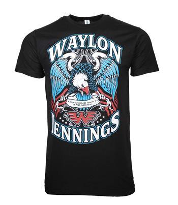 Waylon Jennings Waylon Jennings Lonesome T-Shirt