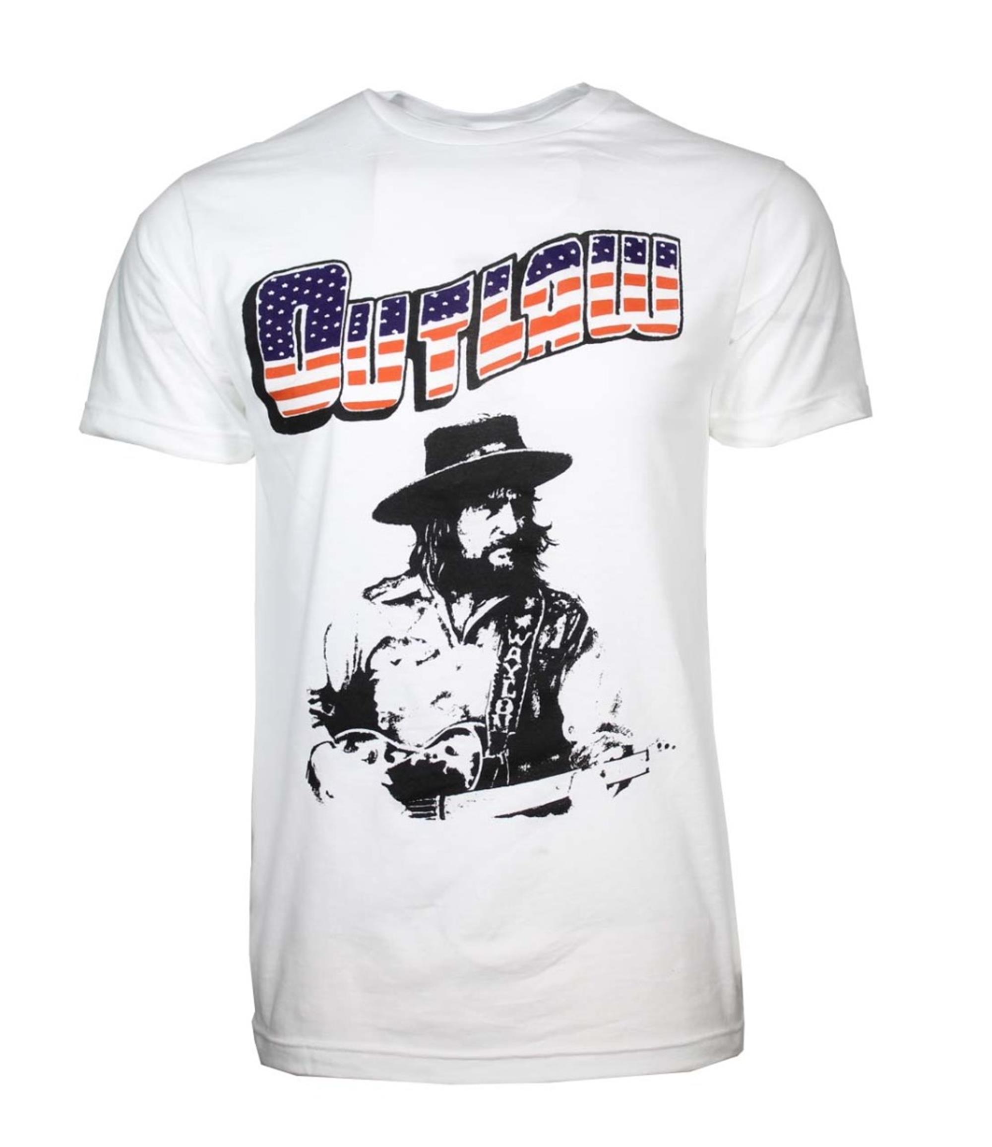 Waylon Jennings Outlaw T-Shirt