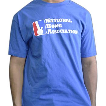 Buy National Bong Association T-Shirt by Weed