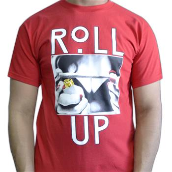Buy Roll Up T-Shirt by Weed