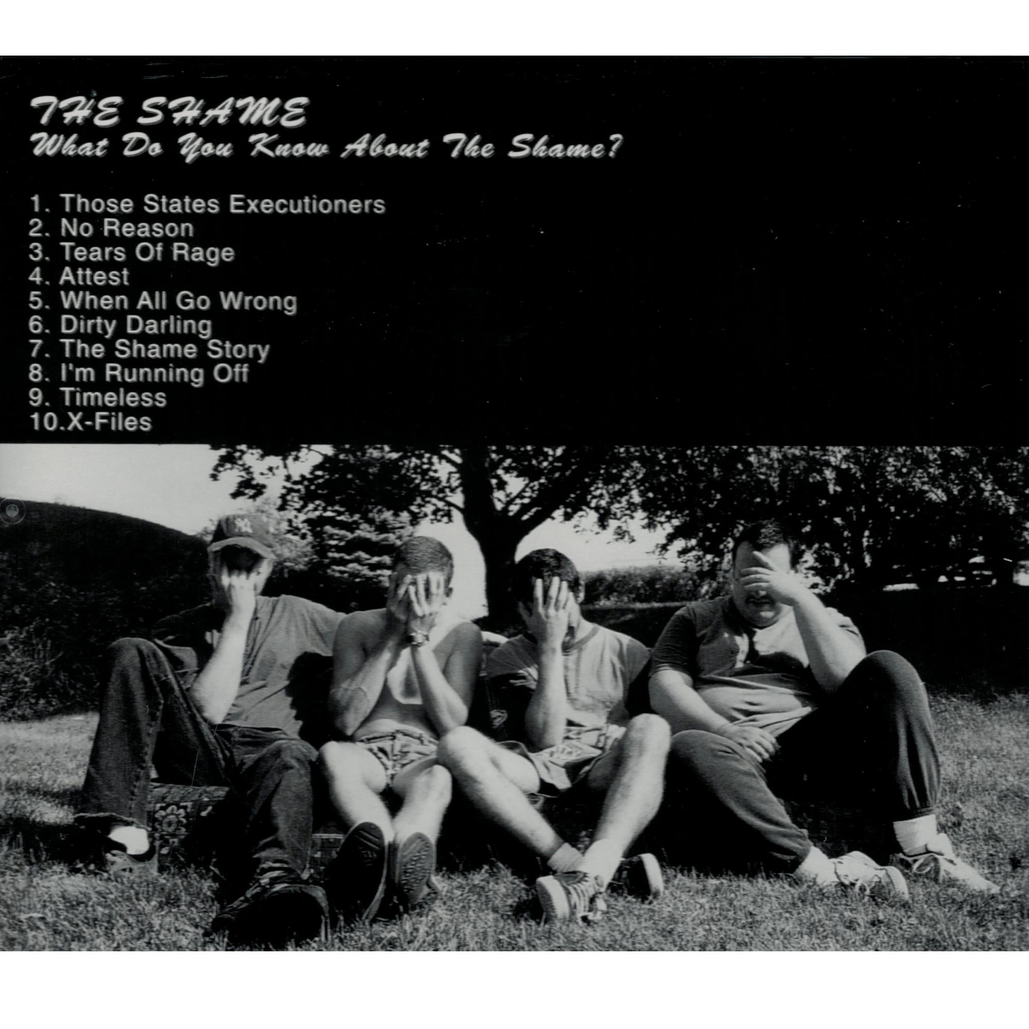 What Do You Know About The Shame CD