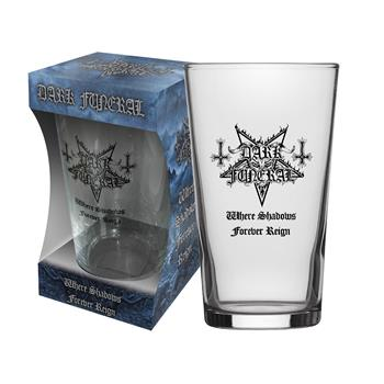 Dark Funeral Where Shadows Forever Reign Beer Glass
