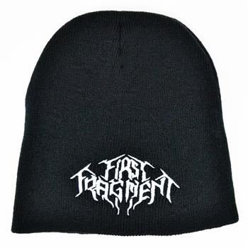 First Fragment White Logo Beanie