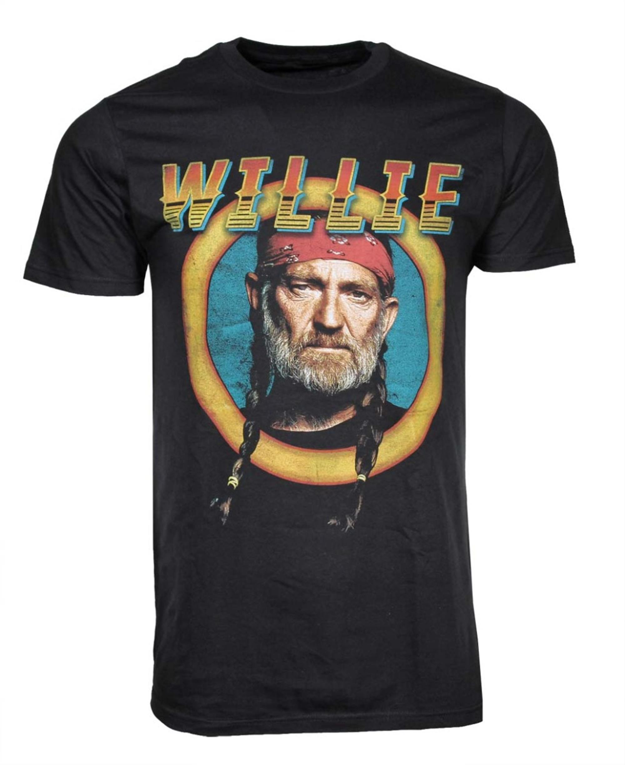 Willie Nelson Circle Sign T-Shirt