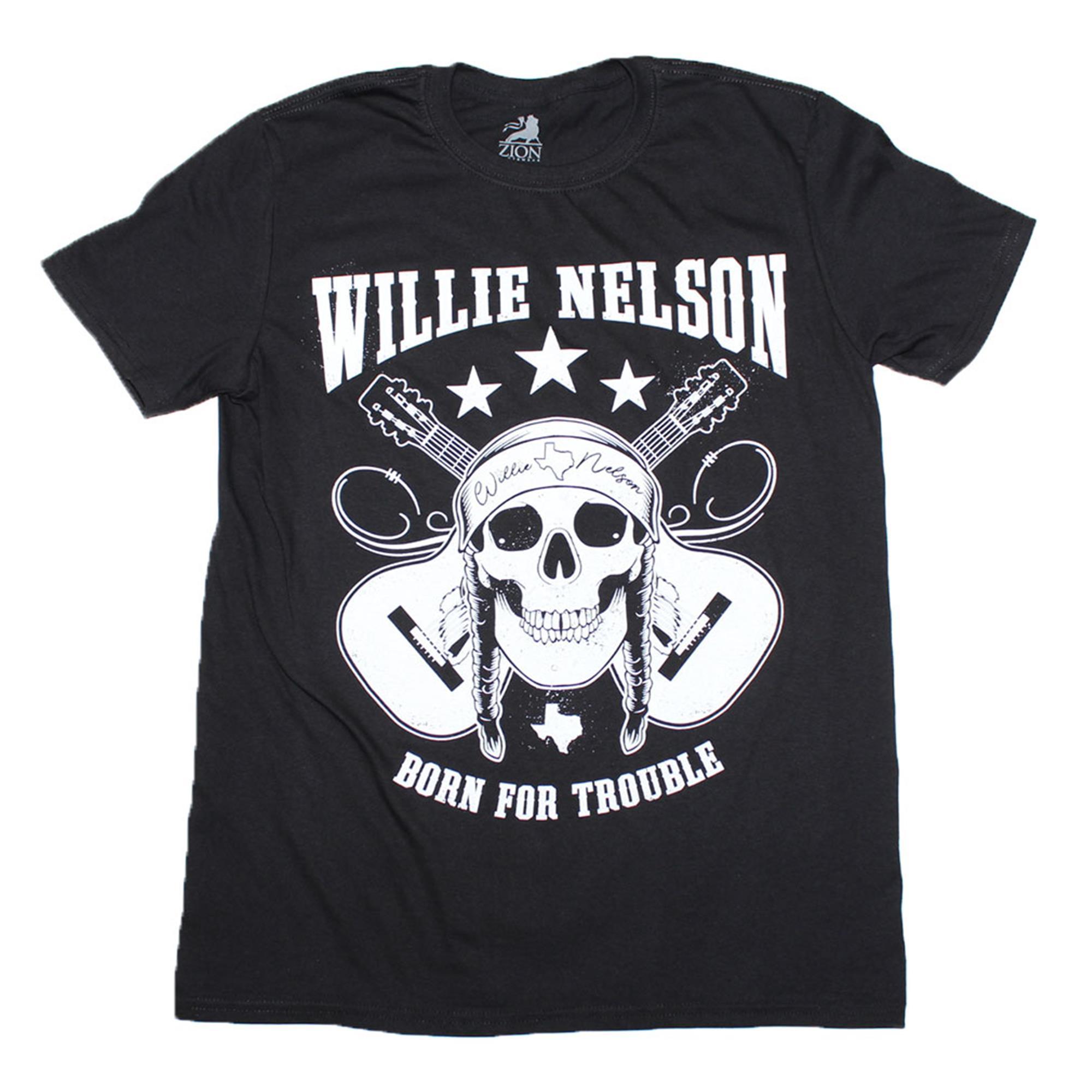Willie Nelson Skull T-Shirt