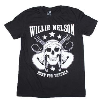 Willie Nelson Willie Nelson Skull T-Shirt
