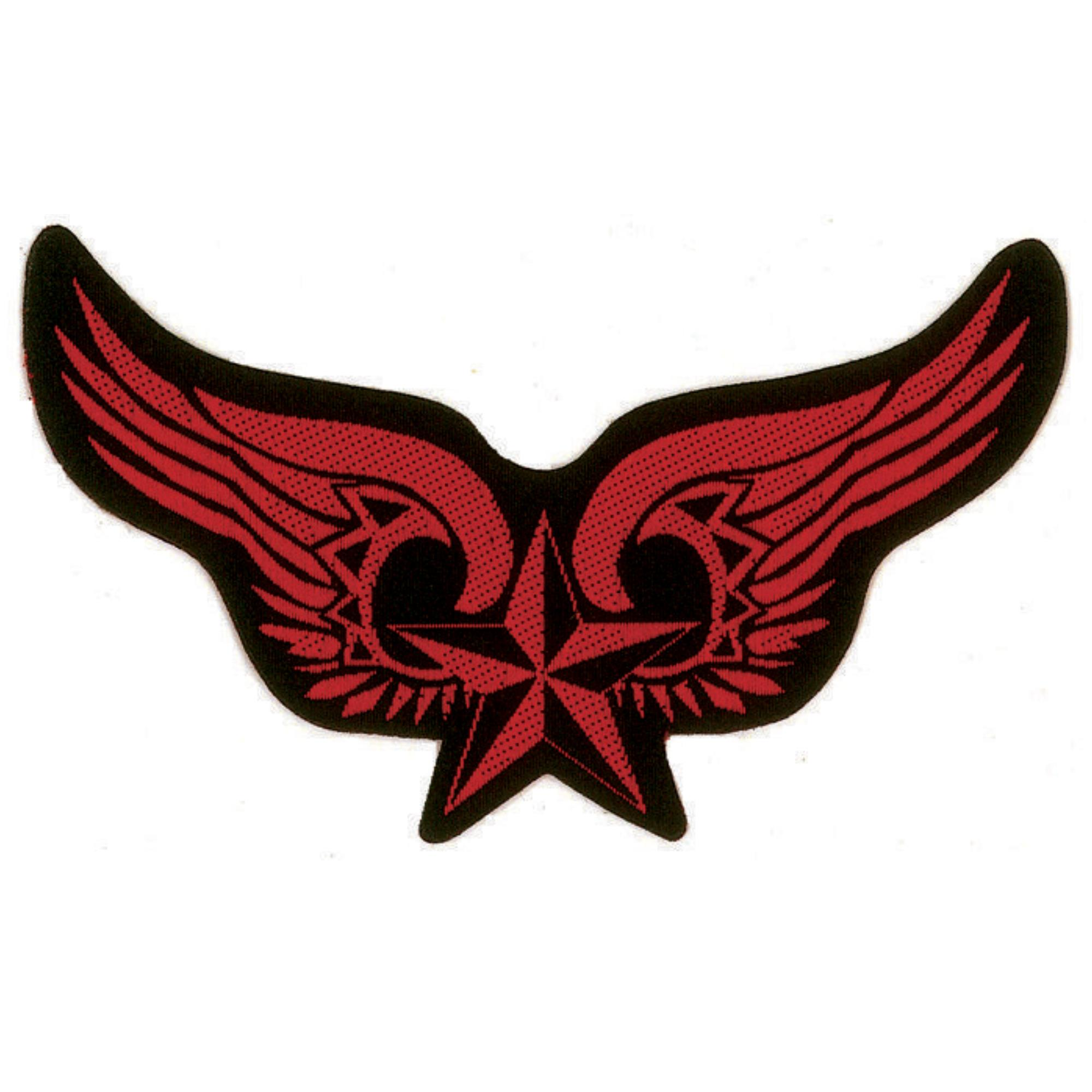 Winged Nautical Star Patch