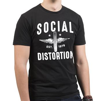 Social Distortion Winged Wheel (Import)