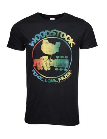 Woodstock Woodstock Colorful Logo T-Shirt