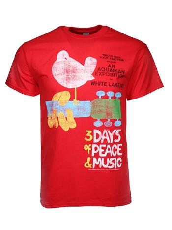 Woodstock Woodstock Poster T-Shirt