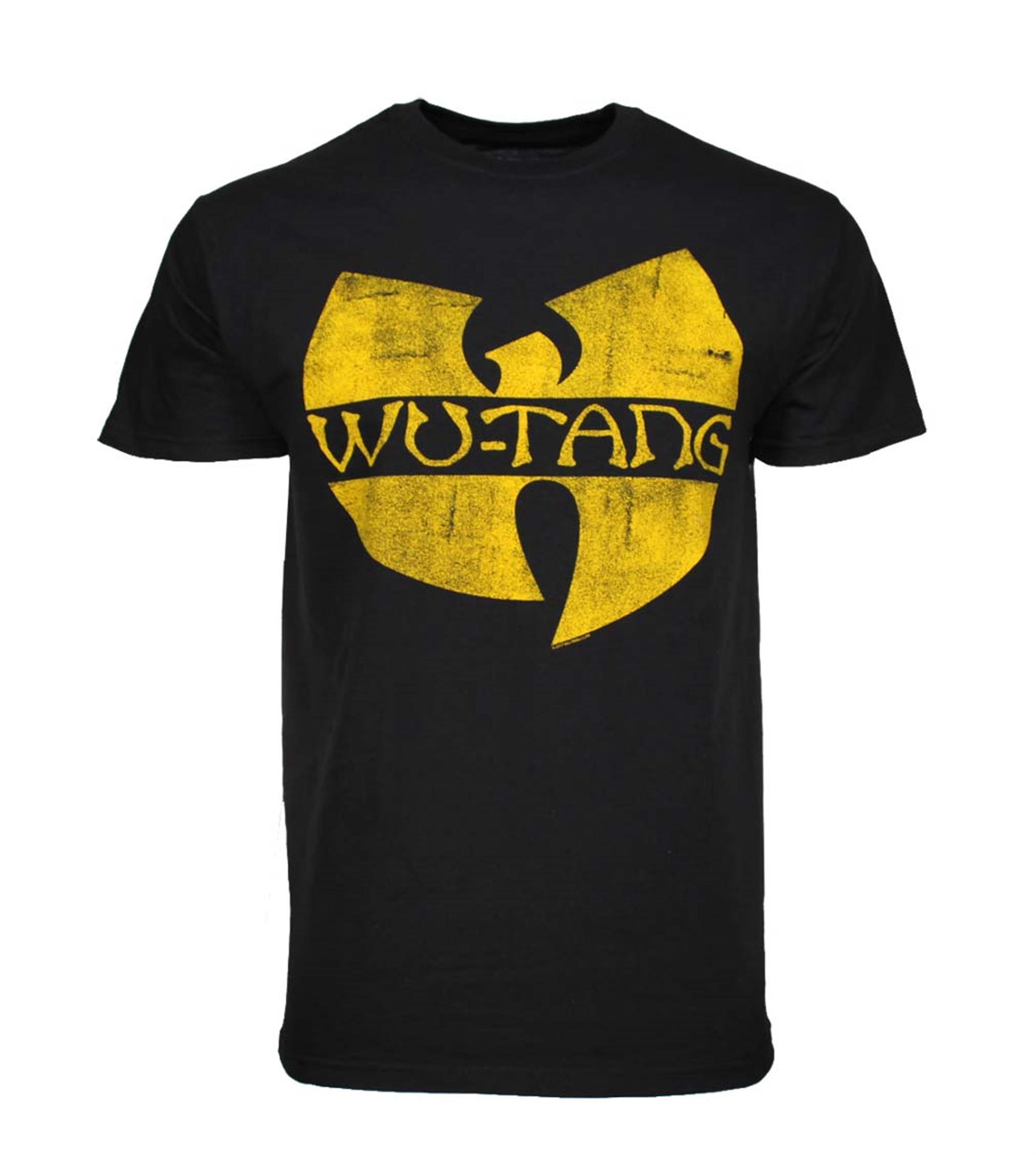 Wu Tan Clan Classic Yellow Logo T-Shirt