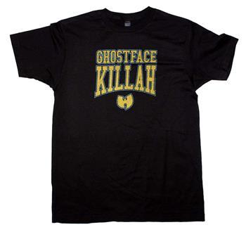 Buy Wu Tang Clan Ghost Face Killah Logo T-Shirt by WU-TANG CLAN