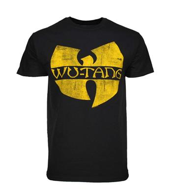 Buy Wu Tan Clan Classic Yellow Logo T-Shirt by Wu-tang Clan