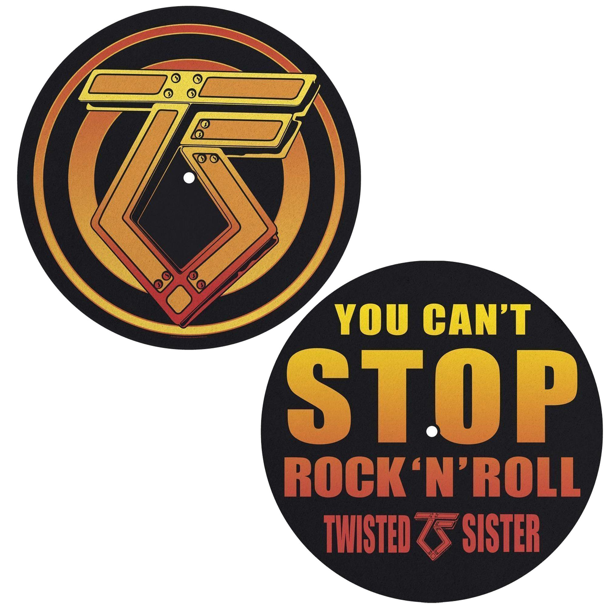 You Can't Stop Rock N Roll Slipmat Set