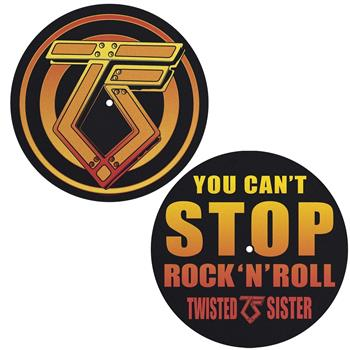 Buy You Can't Stop Rock N Roll Slipmat Set by Twisted Sister
