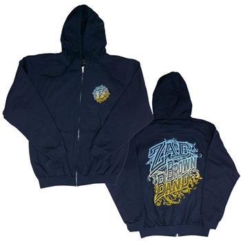 Zac Brown Band Zac Brown Band Logo Zip Hoodie Sweatshirt