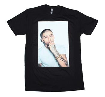 Buy Zayn White on White Photo T-Shirt by Zayn Malik