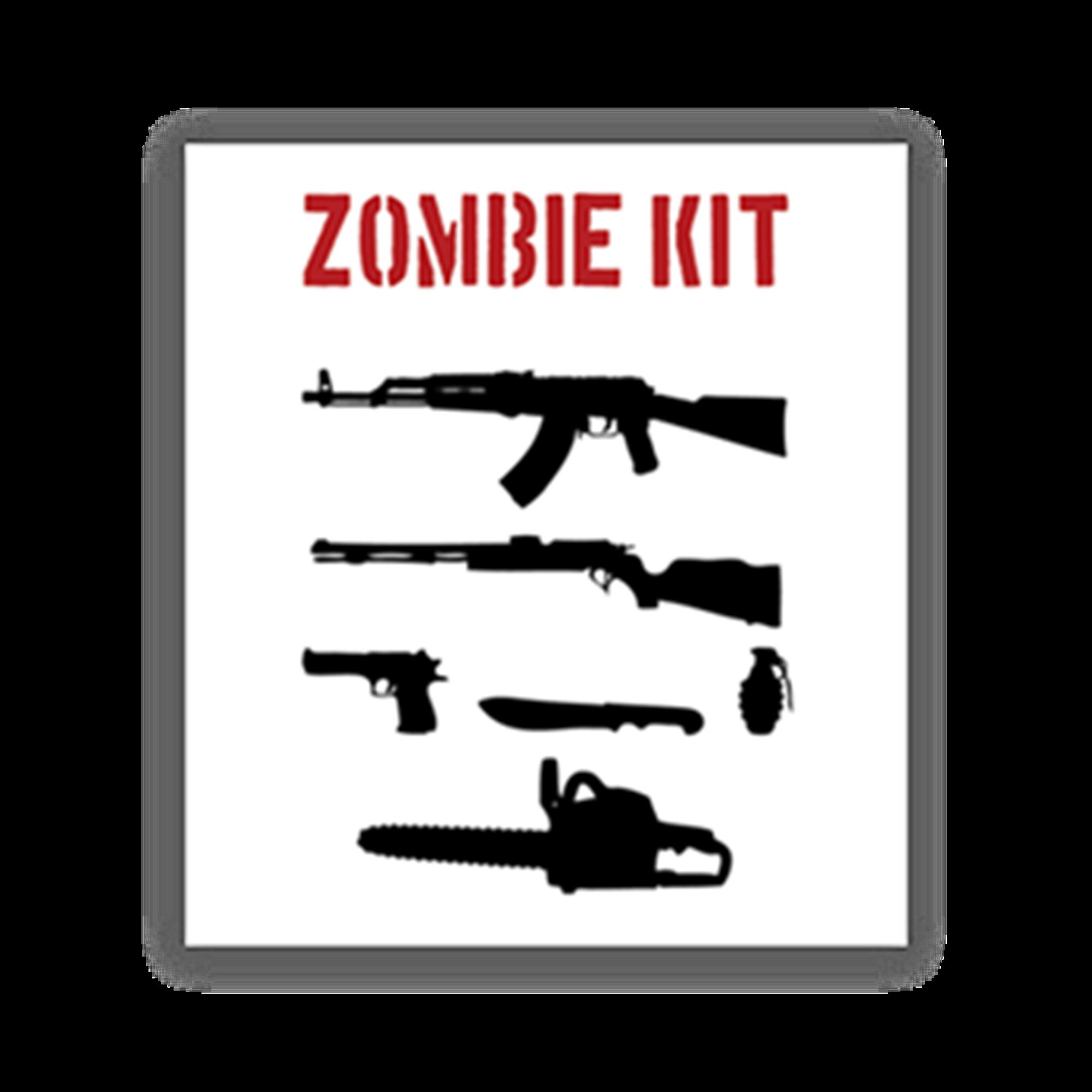 Zombie Kit Sticker