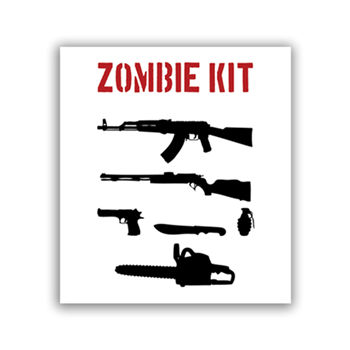 Buy Zombie Kit Sticker by Generic